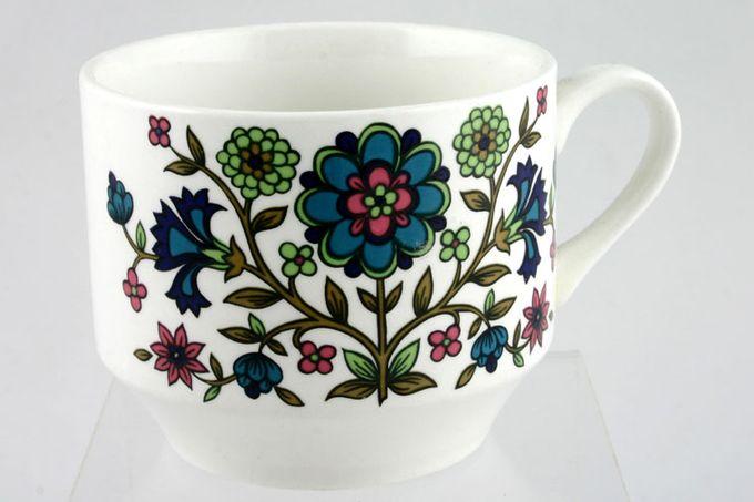 "Midwinter Country Garden Breakfast Cup 3 1/2 x 2 3/4"""