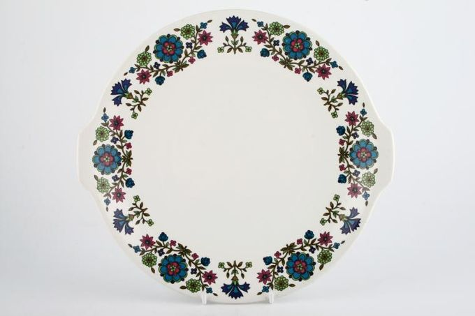 """Midwinter Country Garden Cake Plate Round 10 1/4"""""""