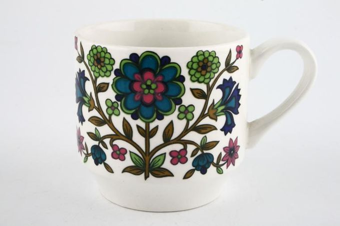 """Midwinter Country Garden Coffee Cup 2 5/8 x 2 1/2"""""""