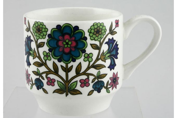 """Midwinter Country Garden Coffee Cup 2 3/4 x 2 3/4"""""""