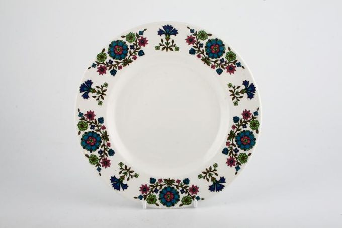 "Midwinter Country Garden Breakfast / Lunch Plate Rimmed 9"""