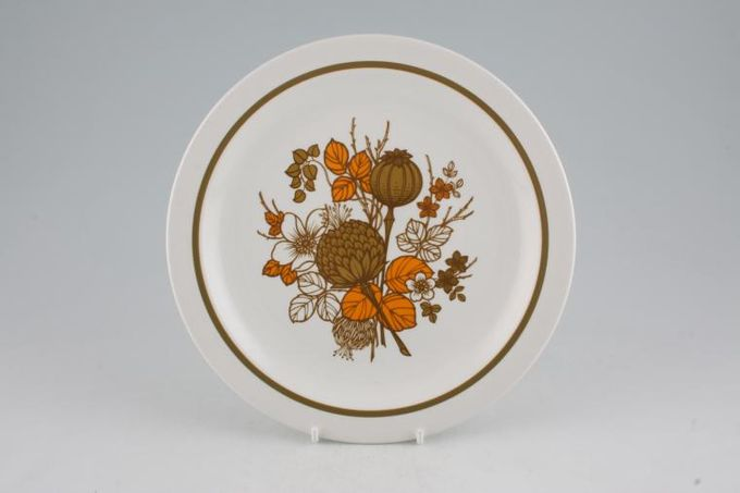 Midwinter Countryside Breakfast / Salad / Luncheon Plate 8 3/4""