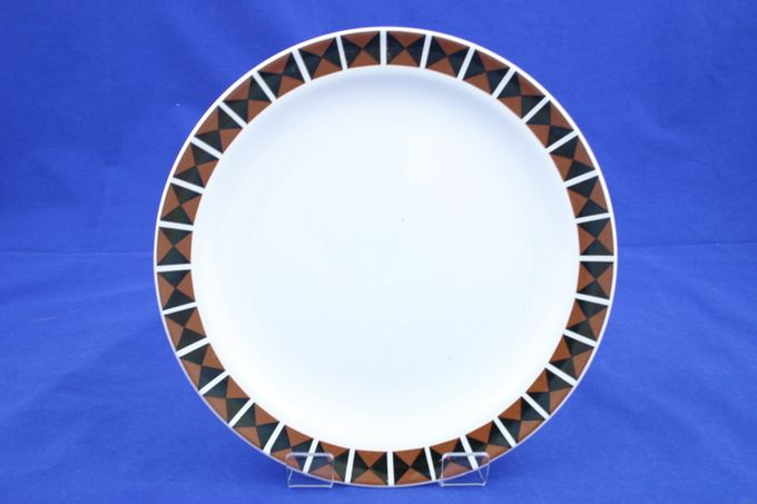 Midwinter Diagonal Breakfast / Salad / Luncheon Plate 8 7/8""
