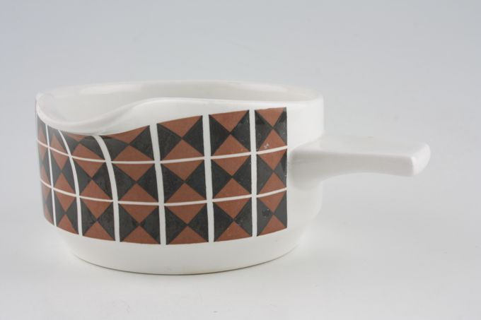 Midwinter Diagonal Sauce Boat