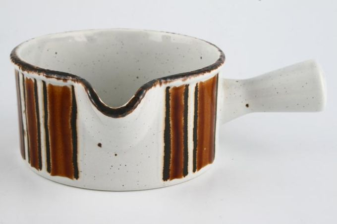 Midwinter Earth Sauce Boat 1 Handle. See Creation for stand)