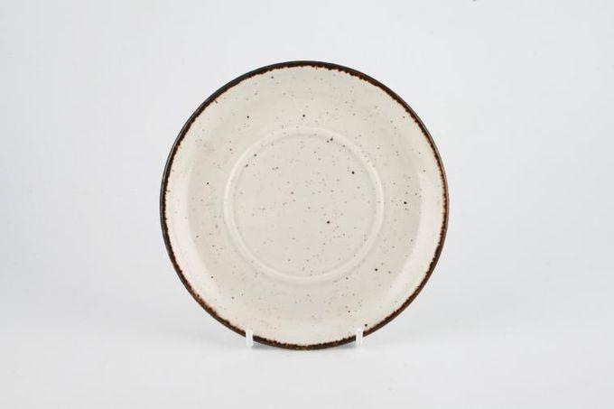 "Midwinter Earth Tea Saucer Plain same as Creation, For Large Teacups 6 1/4"""