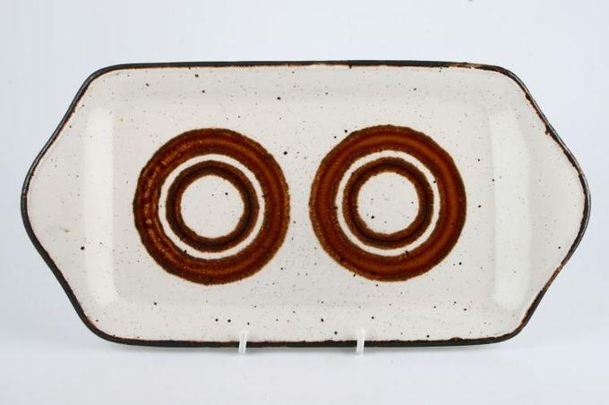 """Midwinter Earth Sandwich Tray 13 1/8 x 6 3/4"""""""