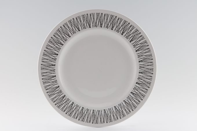 """Midwinter Graphic Dinner Plate 10 3/8"""""""