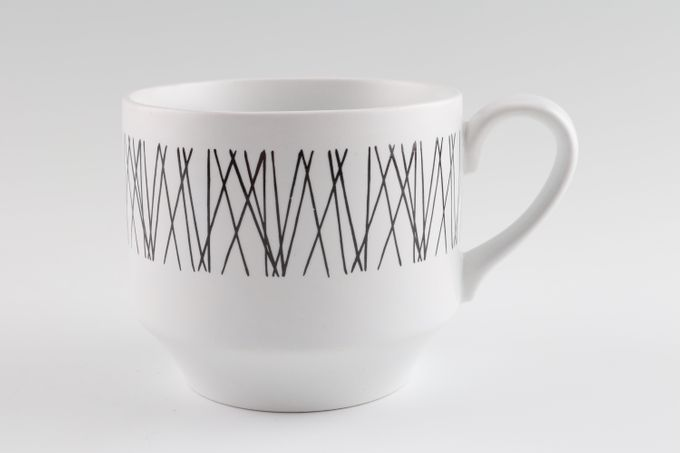 """Midwinter Graphic Teacup 3 1/4 x 2 3/4"""""""