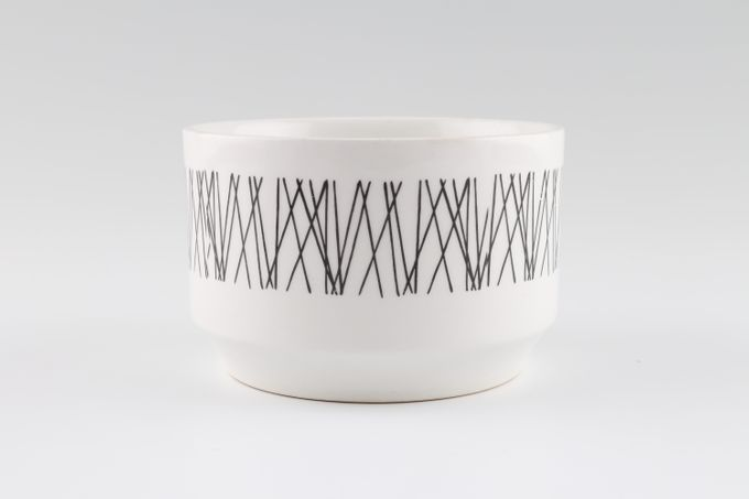 "Midwinter Graphic Sugar Bowl - Open (Tea) Open 4"""