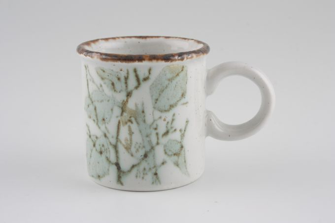 """Midwinter Greenleaves Coffee Cup 2 1/4 x 2 1/4"""""""