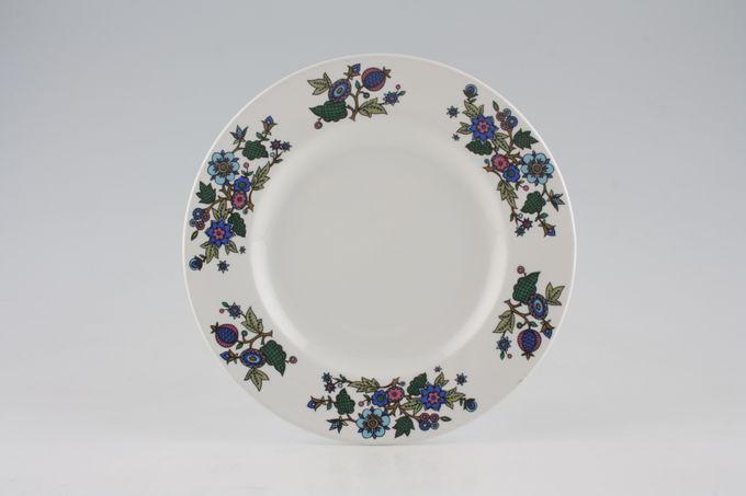"Midwinter Alpine Blue Dessert / Salad Plate 8"""