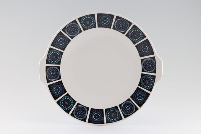 """Midwinter Madeira Cake Plate Round - Eared 10 1/4"""""""