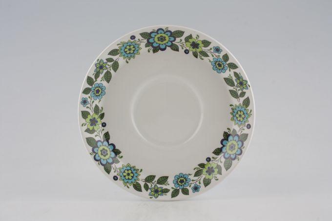 "Midwinter April Flowers Tea Saucer 5 3/4"""