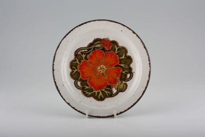 "Midwinter Nasturtium Tea / Side Plate 7"""
