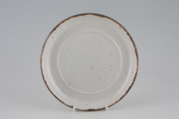 "Midwinter Nasturtium Soup Cup Saucer plain, no pattern 6 3/4"""