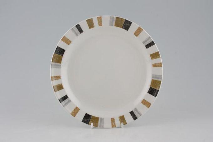 """Midwinter Queensberry Stripe Starter / Salad / Dessert Plate Deep 8"""""""