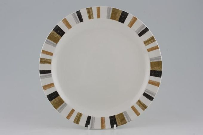 Midwinter Queensbury Stripe Dinner Plate 10""