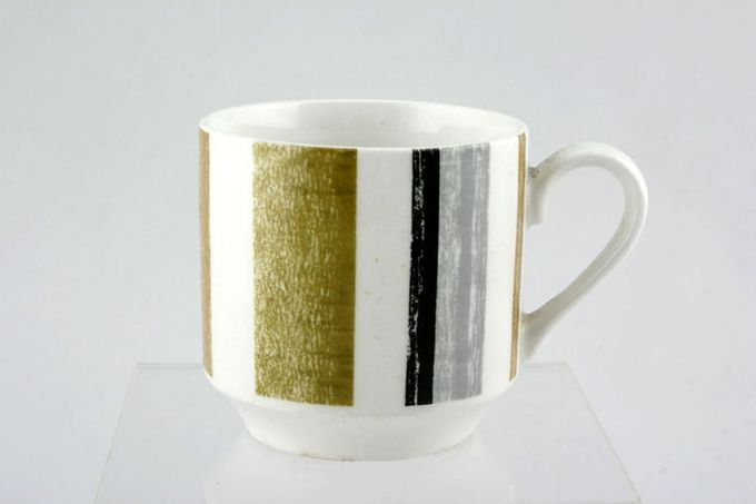 Midwinter Queensberry Stripe Coffee Cup 2 1/2 x 2 1/2""