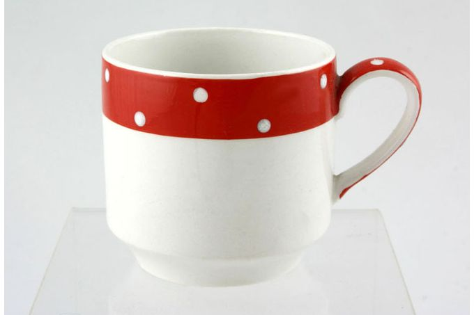 "Midwinter Red Domino Coffee/Espresso Can 2 5/8 x 2 1/2"""