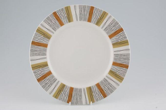 "Midwinter Sienna Dinner Plate 10 1/2"""