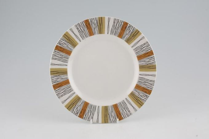 "Midwinter Sienna Breakfast / Salad / Luncheon Plate 8 3/4"""
