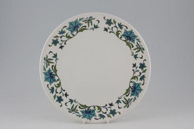 "Midwinter Spanish Garden Dinner Plate No rim 10"""