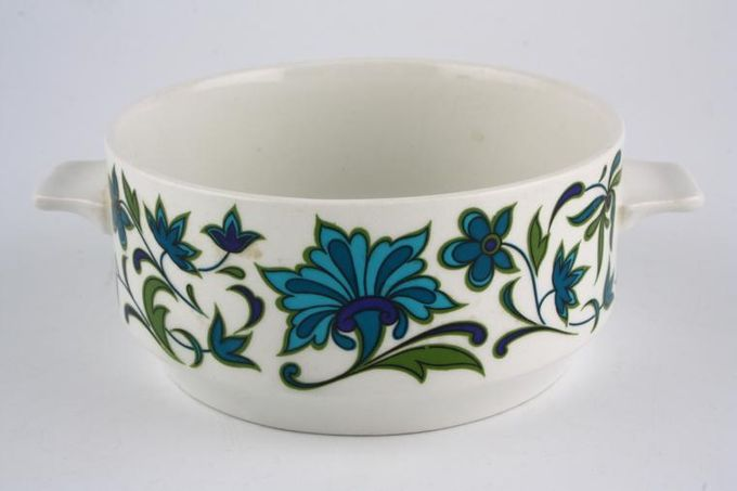 Midwinter Spanish Garden Soup Cup Lugged handles