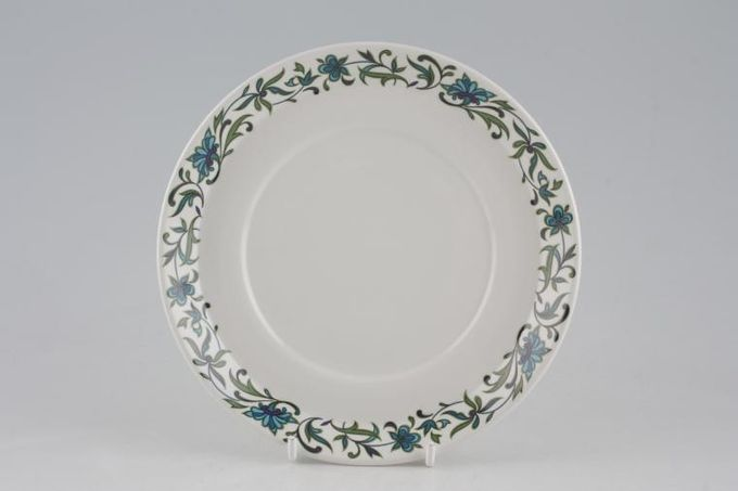 """Midwinter Spanish Garden Sauce Boat Stand For boat with flat handle. See soup cup saucers 6 1/2"""""""