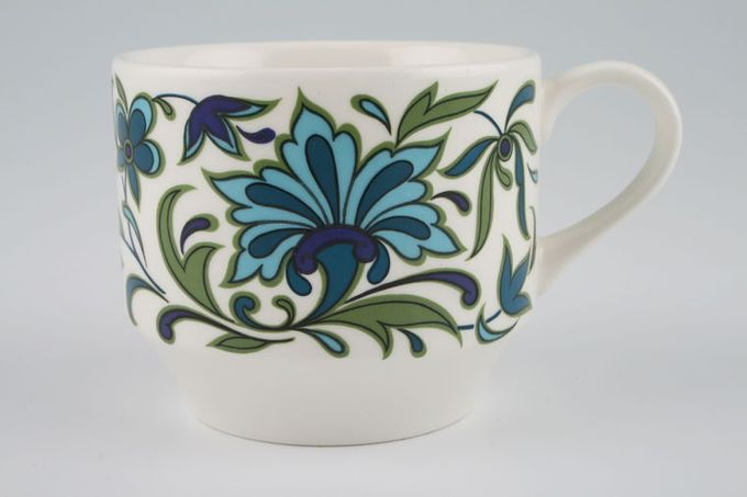 "Midwinter Spanish Garden Teacup 3 1/4 x 2 3/4"""