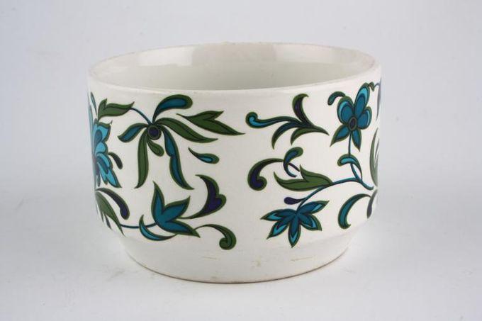 "Midwinter Spanish Garden Sugar Bowl - Open (Tea) 3 3/4 x 3 1/8"""
