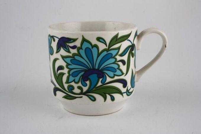 "Midwinter Spanish Garden Coffee Cup 2 5/8 x 2 1/2"""