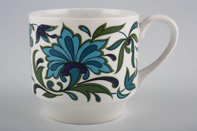 "Midwinter Spanish Garden Coffee Cup 2 3/4 x 2 5/8"""