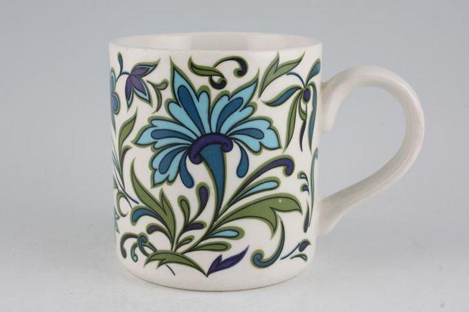 "Midwinter Spanish Garden Mug 3 1/8 x 3 3/8"""