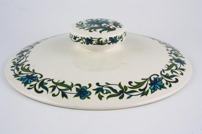 Midwinter Spanish Garden Vegetable Tureen Lid Only For no Handles - lidded