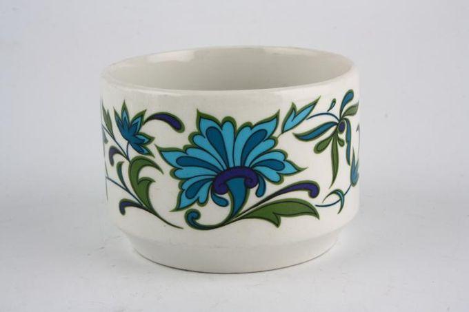 "Midwinter Spanish Garden Sugar Bowl - Open (Tea) 3 3/4 x 2 1/2"""