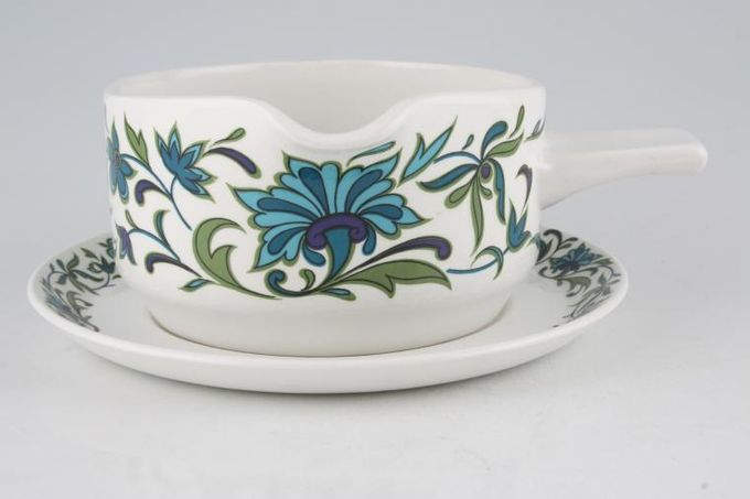 Midwinter Spanish Garden Sauce Boat and Stand Set