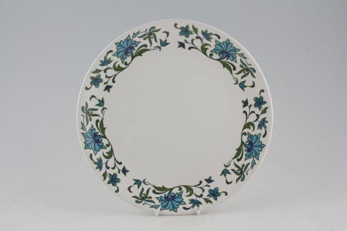 """Midwinter Spanish Garden Cake Plate Round 10"""""""