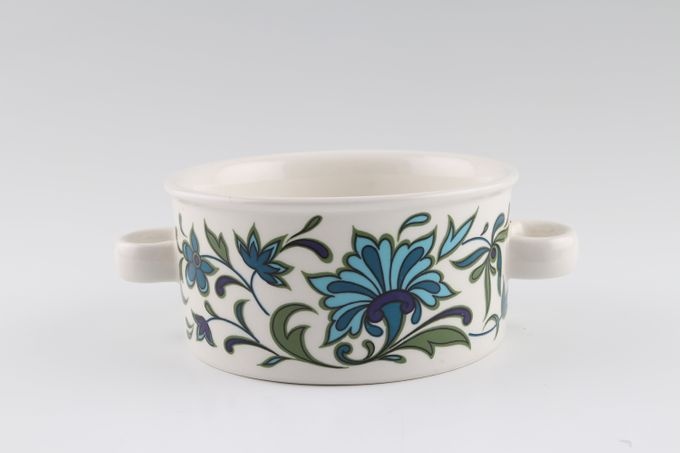 Midwinter Spanish Garden Soup Cup Looped Handles