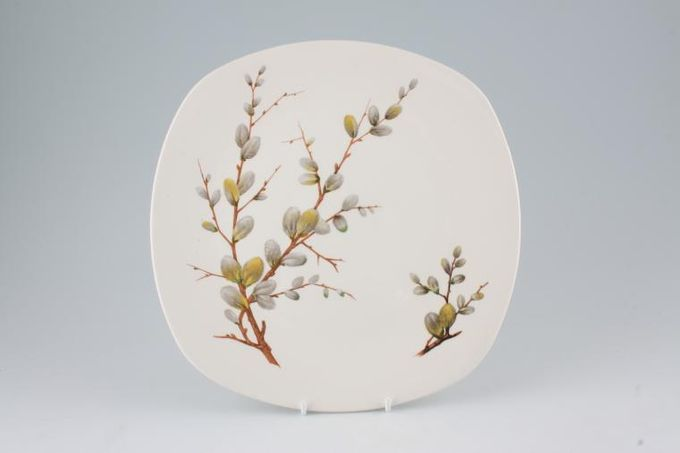 Midwinter Spring Willow Breakfast / Salad / Luncheon Plate square 9 1/2""