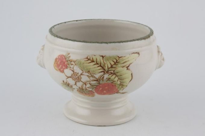Midwinter Still Life Soup Cup Footed, Lion Head Lugs