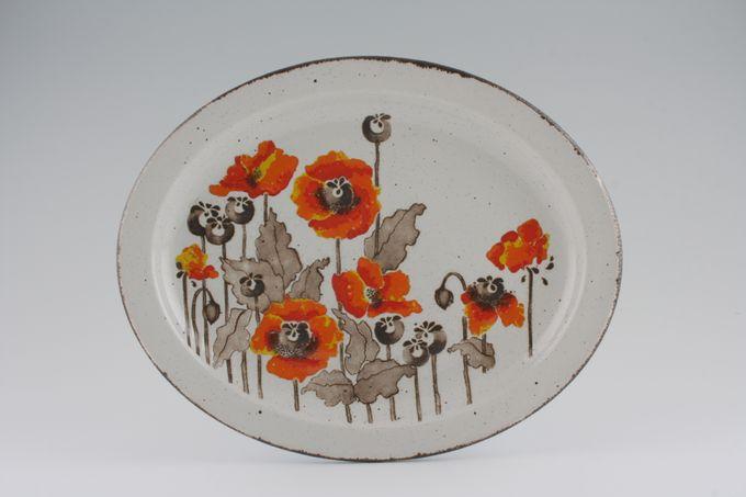 """Midwinter Autumn Oval Plate / Platter 12"""""""