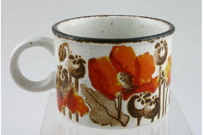 "Midwinter Autumn Teacup 3 1/2 x 2 1/2"""