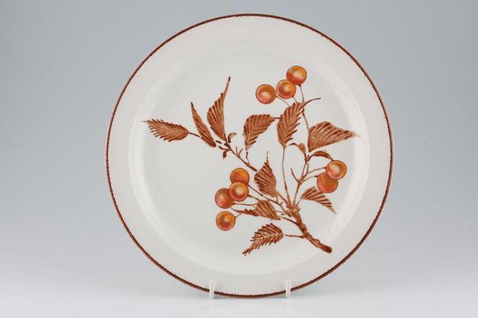 "Midwinter Wild Cherry Dinner Plate 10 1/2"""
