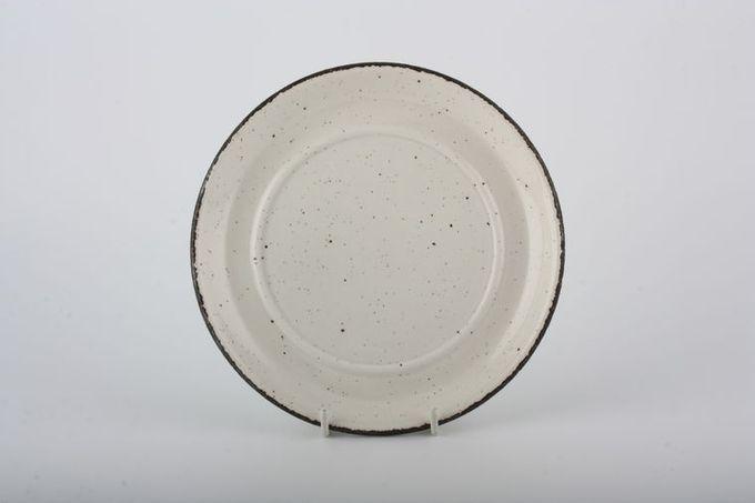 "Midwinter Wild Oats Soup Cup Saucer plain, no pattern. Same as gravy jug stand. 6 7/8"""