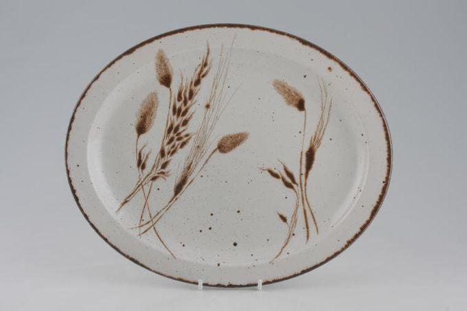 """Midwinter Wild Oats Oval Plate / Platter 12"""""""