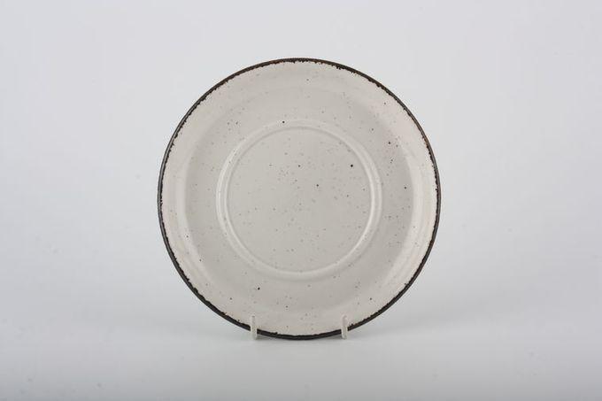 """Midwinter Wild Oats Tea Saucer plain, for larger cups 6 1/8"""""""