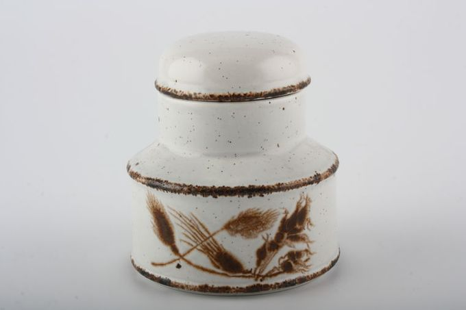 Midwinter Wild Oats Sugar Bowl - Lidded (Coffee)