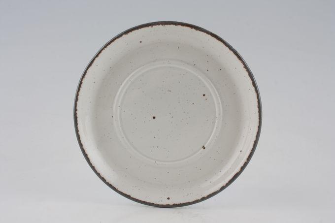"Midwinter Wild Strawberry Tea Saucer plain, no pattern 6 1/4"""