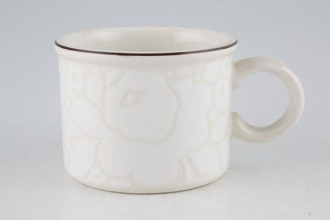 Midwinter Winter Teacup 3 1/2 x 2 1/2""